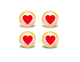 #27 untuk Heart icon for gamification currency on diabetes website oleh paulall