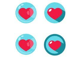 #12 untuk Heart icon for gamification currency on diabetes website oleh polkurakina