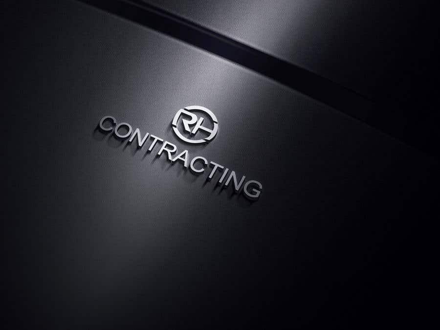 Penyertaan Peraduan #50 untuk RH Contracting Logo Design