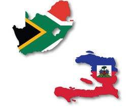 #25 untuk South Africa & Haiti Image oleh ikhtamin