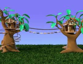 #23 untuk 3D Cartoon Stylized Suburbs / Forest Environment - High/Medium Resolution oleh joaillustrator
