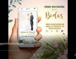 #13 untuk Make an e-invite from physical wedding card design oleh NeglisAllen