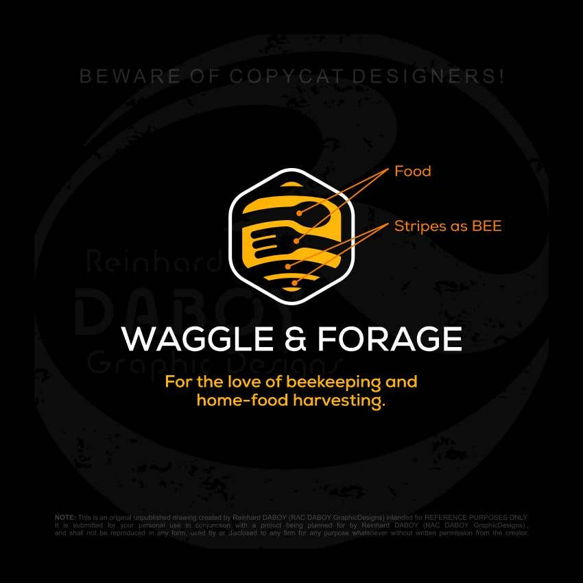 "Bài tham dự cuộc thi #653 cho Logo design for new small business - ""Waggle & Forage"""