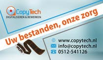 Graphic Design Konkurrenceindlæg #7 for Business Card Design for Copytech.nl