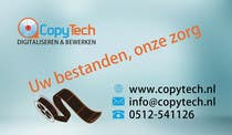 Graphic Design Konkurrenceindlæg #21 for Business Card Design for Copytech.nl