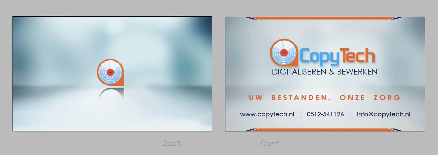 #31 for Business Card Design for Copytech.nl by nikster08