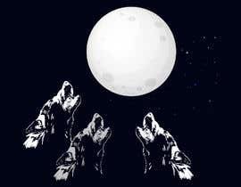 #10 for Create Three Wolves Design for Planters af MuhammdUsman