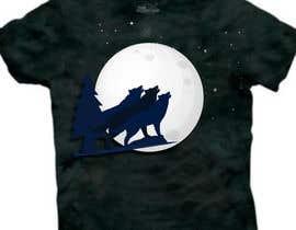 #12 for Create Three Wolves Design for Planters af MuhammdUsman