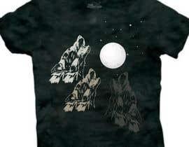 #21 for Create Three Wolves Design for Planters af MuhammdUsman