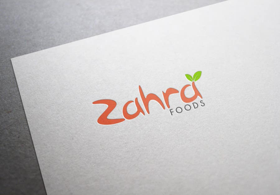 Design a logo for zahra food company freelancer for Cuisine zahra