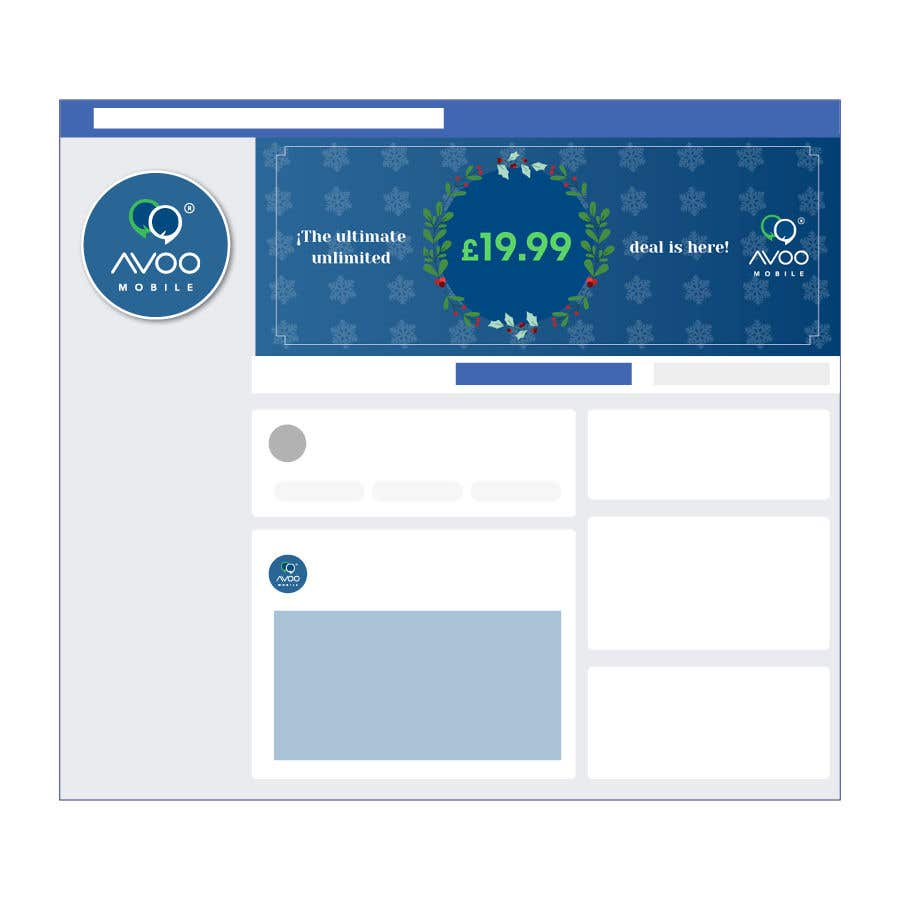 Конкурсная заявка №8 для Facebook ad image and cover page design (Brand/Theme)