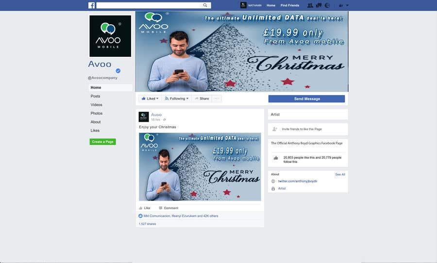 Конкурсная заявка №62 для Facebook ad image and cover page design (Brand/Theme)