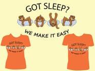 Proposition n° 18 du concours Graphic Design pour T-shirt Design for Tired Teddies Guerrilla Marketing Campaign