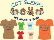 Proposition n° 22 du concours Graphic Design pour T-shirt Design for Tired Teddies Guerrilla Marketing Campaign