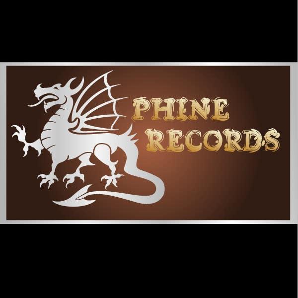Penyertaan Peraduan #                                        58                                      untuk                                         Logo Design for Phine Records