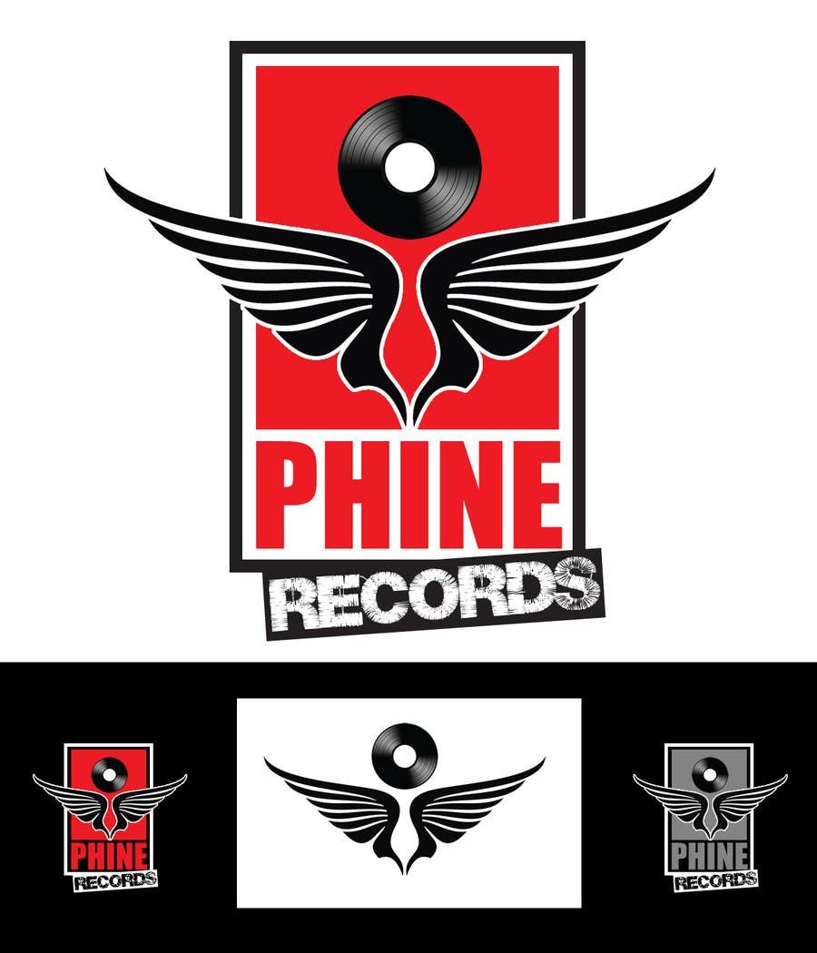 Penyertaan Peraduan #                                        76                                      untuk                                         Logo Design for Phine Records