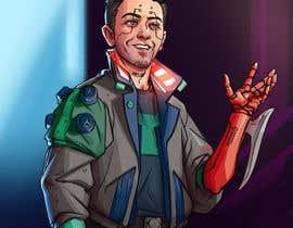 Nro 62 kilpailuun Turn me into a Cyberpunk Character! käyttäjältä mariosaggia