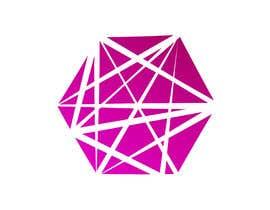 #45 for Realizzazione logo minimale, geometrico, lineare (Simile a quello in allegato - Con un esagono) by yaninaamira