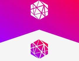 #46 for Realizzazione logo minimale, geometrico, lineare (Simile a quello in allegato - Con un esagono) by rubellhossain26