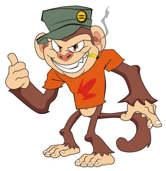 Inscrição nº                                         9                                      do Concurso para                                         Cartoon Monkey (Consider this your application for a bigger job)