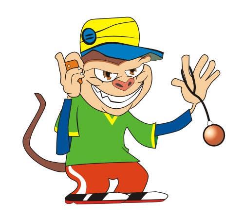Inscrição nº                                         11                                      do Concurso para                                         Cartoon Monkey (Consider this your application for a bigger job)