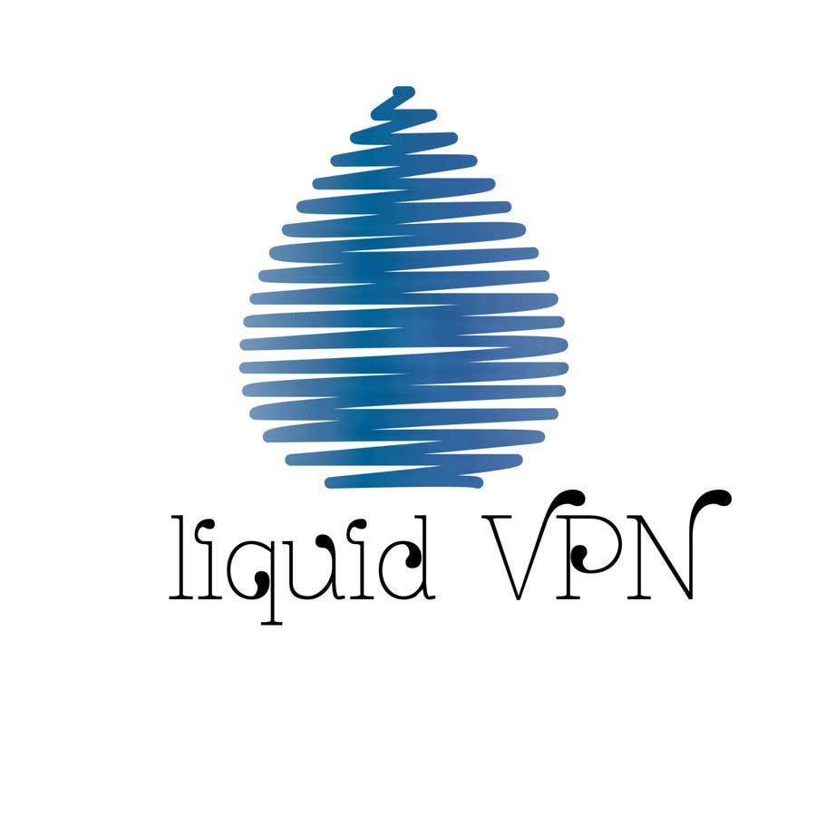Penyertaan Peraduan #                                        40                                      untuk                                         Logo Design for LiquidVPN