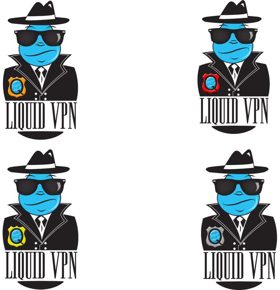 Penyertaan Peraduan #                                        33                                      untuk                                         Logo Design for LiquidVPN