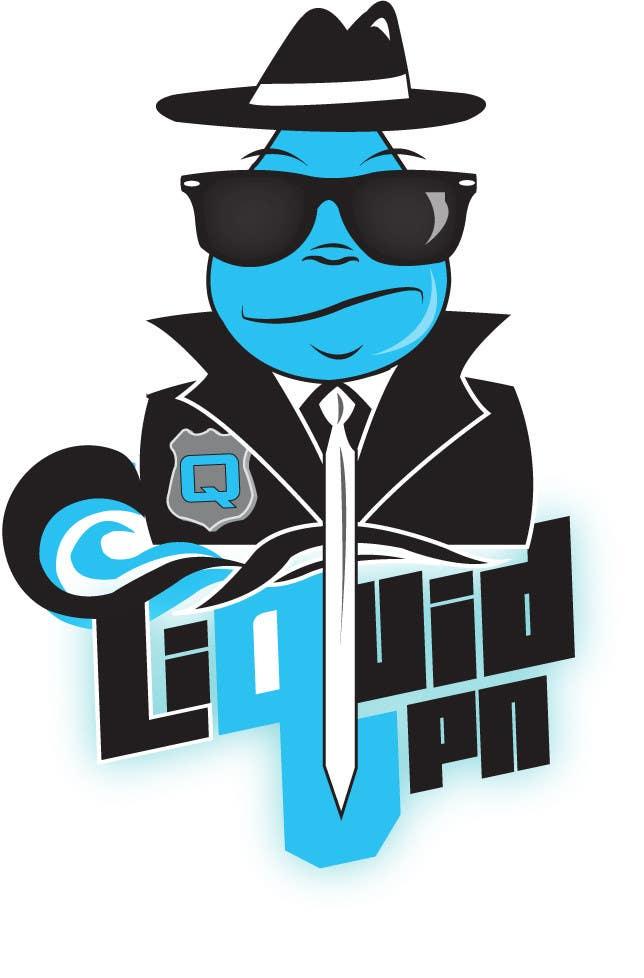 Penyertaan Peraduan #                                        59                                      untuk                                         Logo Design for LiquidVPN