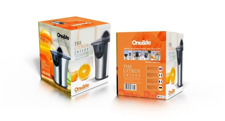 Bài tham dự cuộc thi #                                        24                                      cho                                         Create Minimalistic Print and Packaging Designs for a Citrus Juicer