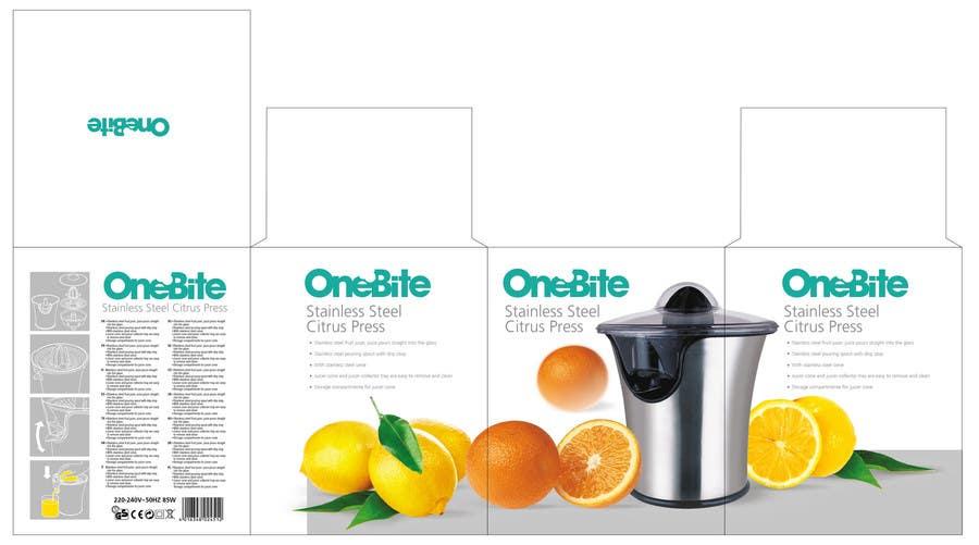 Bài tham dự cuộc thi #                                        16                                      cho                                         Create Minimalistic Print and Packaging Designs for a Citrus Juicer