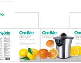 #16 cho Create Minimalistic Print and Packaging Designs for a Citrus Juicer bởi MarinaMarkizova