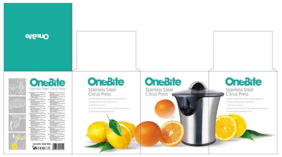 Bài tham dự cuộc thi #                                        17                                      cho                                         Create Minimalistic Print and Packaging Designs for a Citrus Juicer