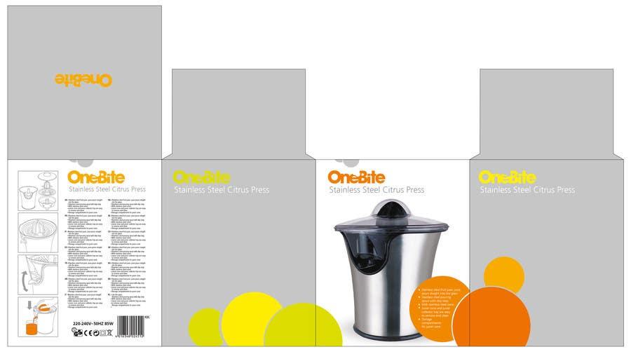 Bài tham dự cuộc thi #                                        19                                      cho                                         Create Minimalistic Print and Packaging Designs for a Citrus Juicer