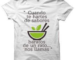 #17 cho Diseñar una camiseta for organic food bởi ismailtunaa92