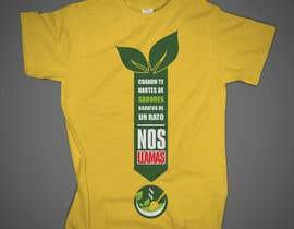 #12 cho Diseñar una camiseta for organic food bởi skahorse