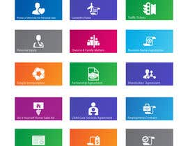#4 for Icon or Button Design for 26 Windows 8 tiles by raikulung