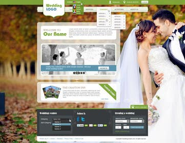 #16 for Website Design for Wedding Portal by iNoesis
