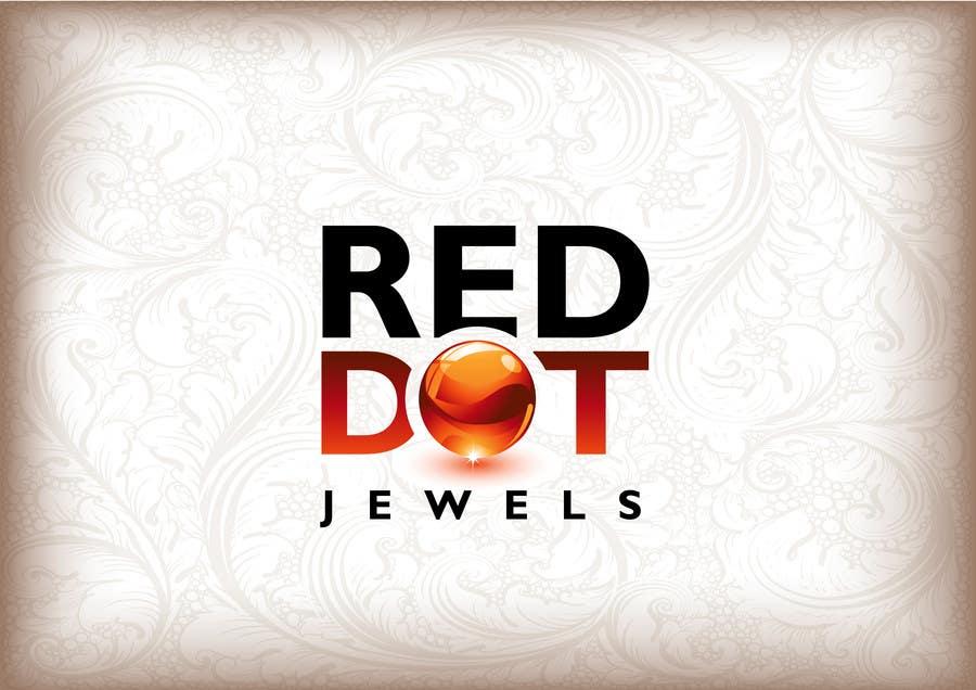 Inscrição nº                                         25                                      do Concurso para                                         Logo Design for Red-Dot Jewels