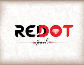 #26 para Logo Design for Red-Dot Jewels por diptisoni