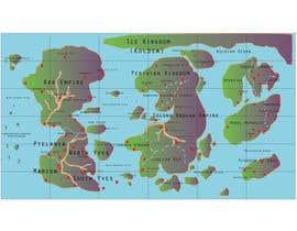 #19 for Map Illustration by alaminislamonti