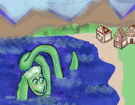 #54 for Mystic, fantasy, lake serpent by elenaodbitola9