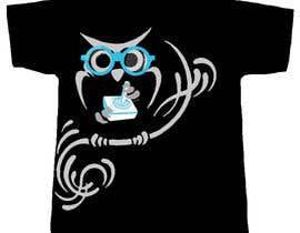 #58 for T-shirt Owl Design for Geek/Gamer Shop by jewelson92