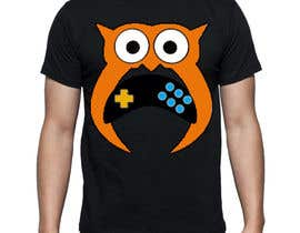 #153 for T-shirt Owl Design for Geek/Gamer Shop by jewelson92