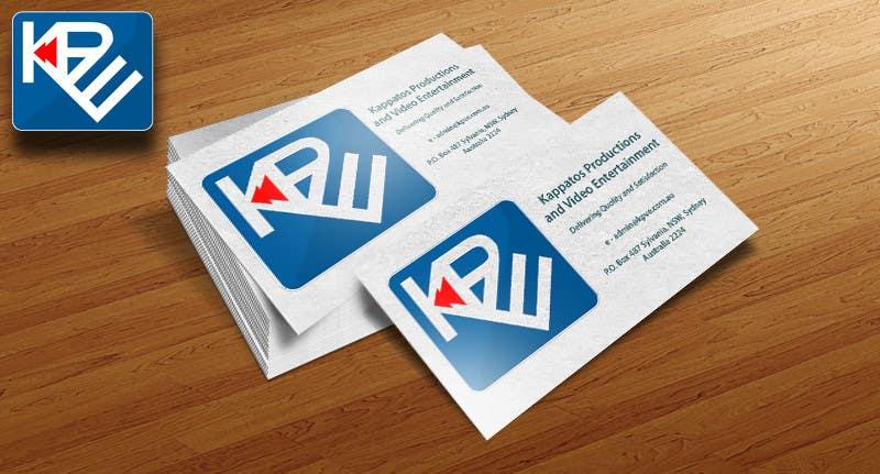 Kilpailutyö #                                        7                                      kilpailussa                                         Logo Design for Kappatos Productions and Video Entertainment (KPVE)