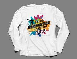 #242 for gymnastics event shirt design by foysaltahmid2018