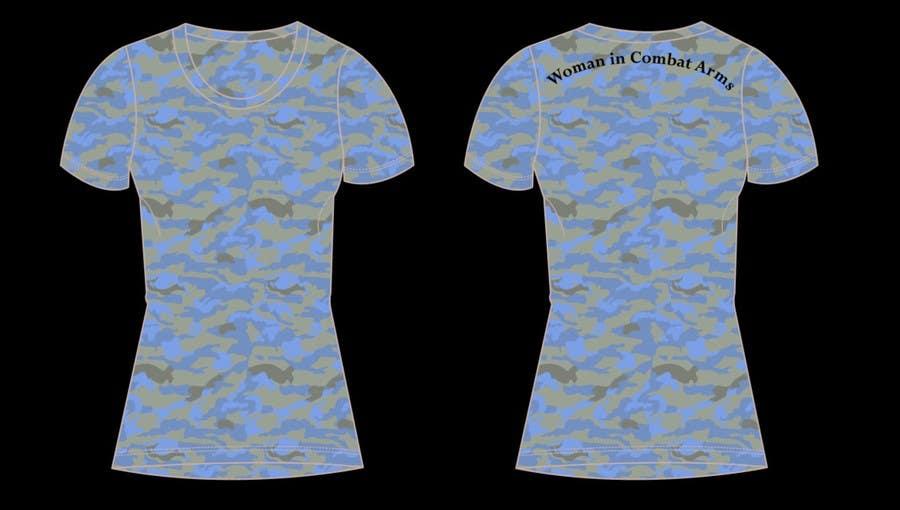 Konkurrenceindlæg #17 for T-shirt Design for Military Apparel.