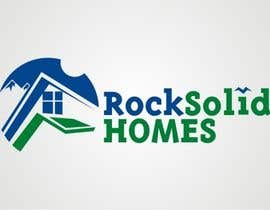 #4 for Logo Design for Rock Solid Homes by dyv