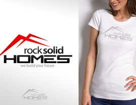 #179 para Logo Design for Rock Solid Homes de ronakmorbia