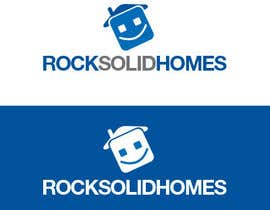 #262 pentru Logo Design for Rock Solid Homes de către ponixx