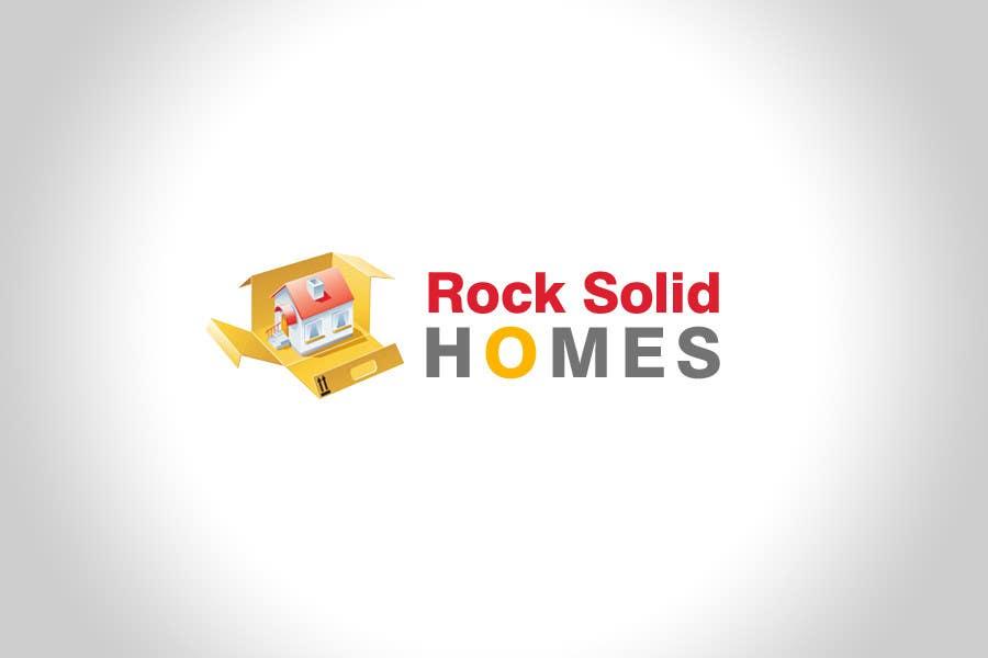Bài tham dự cuộc thi #                                        276                                      cho                                         Logo Design for Rock Solid Homes